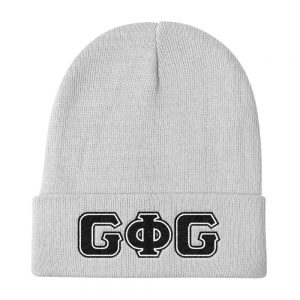 Groove Letters Knit Beanie