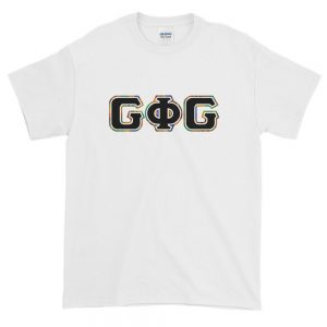 G Phi G Letters Kente Outline – Loose Fit Tee