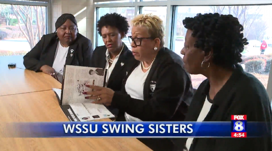 Swing Phi Swing Will Come Together on WSSU Campus at the Spot Where the Group Was Created