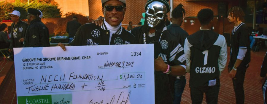 Groove Phi Groove Kickstarts Undergraduate Renewal with Donation