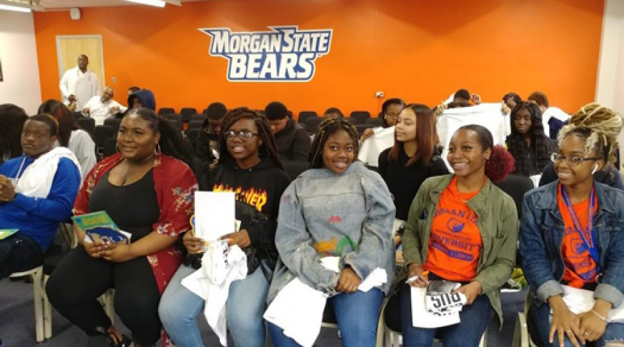 Groove Phi Groove Hosts College Tour for Philly Teens