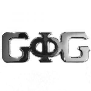 G Phi G – Car Badge